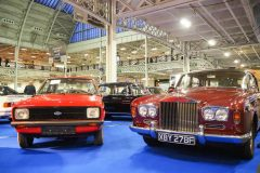 Foto-Ford-Escort-Rolls-Royce-london-classic-car-show-2020
