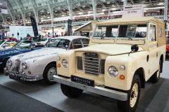 Foto-Land-Rover-Defender-1973 london-classic-car-show-2020