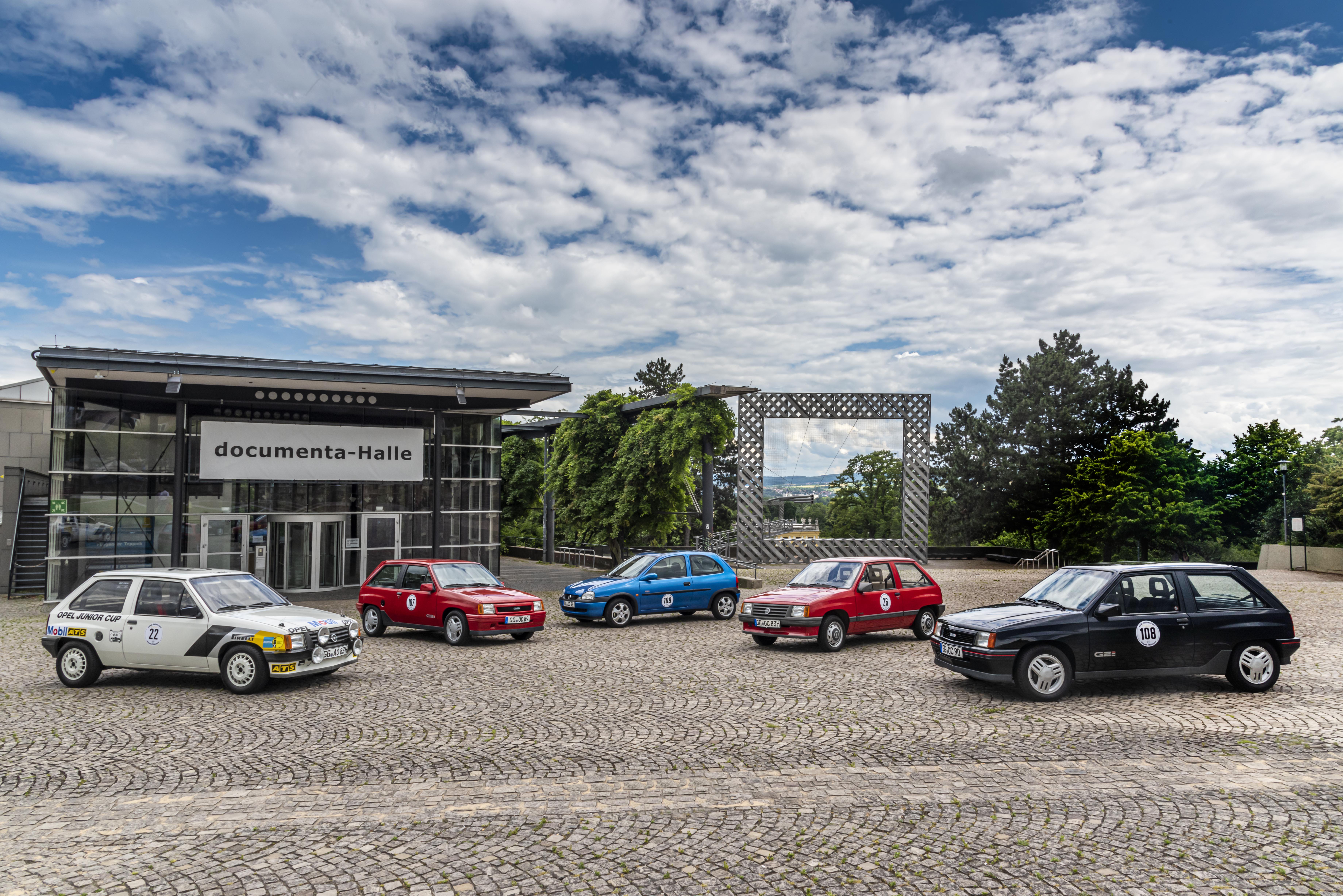 Opel feiert 120 Jahre Autobau bei Hessen-Thüringen Oldtimer Rallye