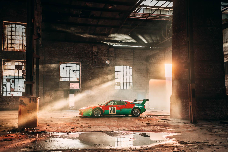 40 Jahre BMW M1 Art Car von Andy Warhol