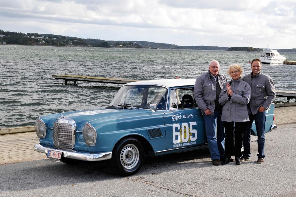 """Mercedes-Benz Rallyefahrerin Ewy Rosqvist: 90. Geburtstag im Jubiläumsjahr """"125 Jahre Motorsport"""""""