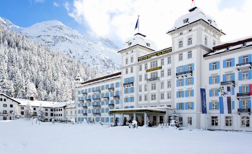 Sport & Style: Das Kempinski Grand Hotel des Bains
