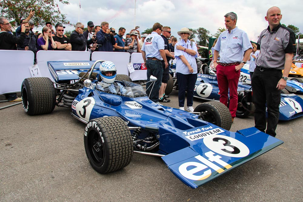 foto goodwood festival of speed for historic racing f1 Tyrell oldtimertermine classiccar