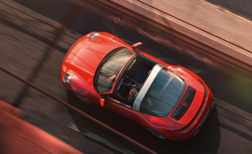 NEW: Porsche 911 Targa