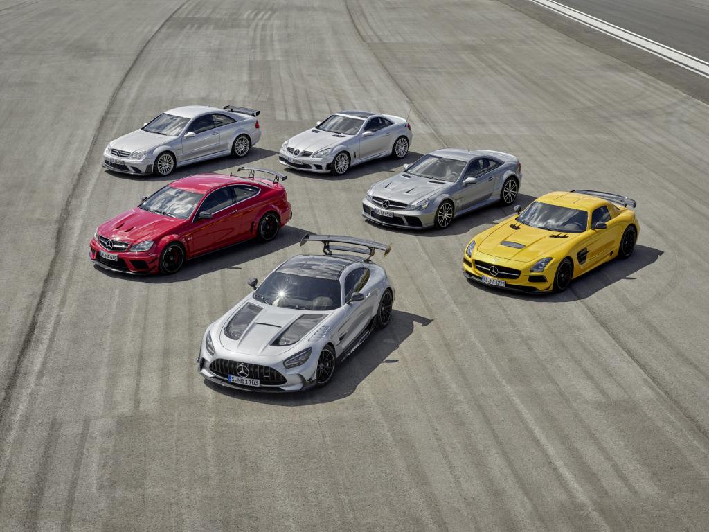Mercedes AMG Black Series Familie