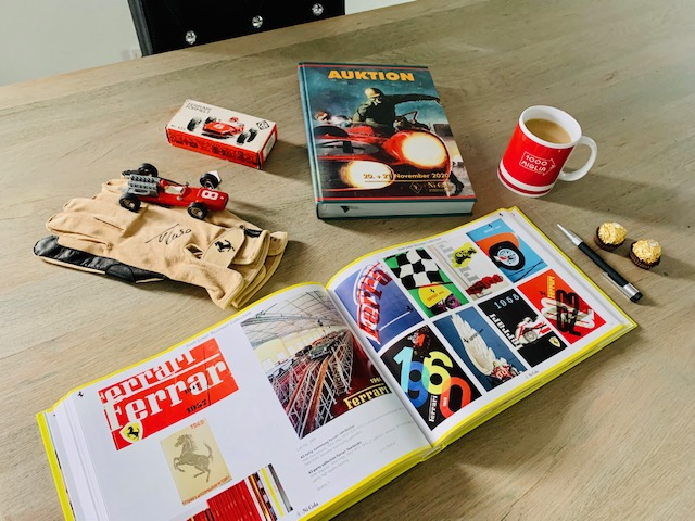 Auktionskataloge Herbstauktion 2020 Nicola Classics Ladenburg mit Sonderkatalog Ferrari-Sammlung Jean Louis Bezemer