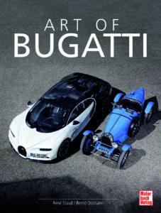 foto cover art of bugatti buch motorbuch verlag