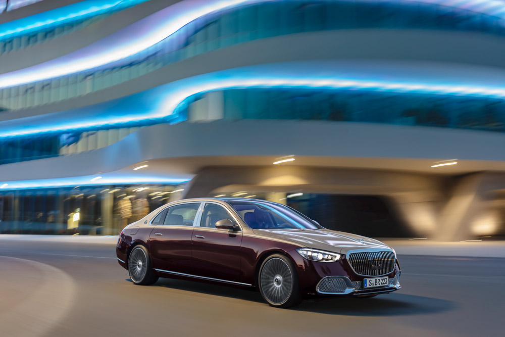 mercedes s-klasse maybach foto