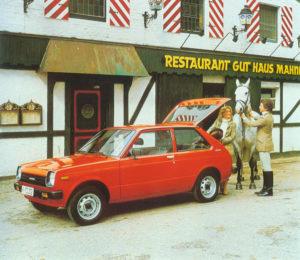 foto toyota kleinwagen starlet 1. generation