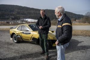 foto walter röhrl porsche 924 gts rallye jubiläum 40 jahre mit Roland Kußmaul